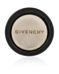Givenchy - Small Round Earrings in Lacquered Pewter and Black Crystal - Lyst