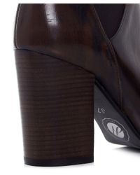 H by Hudson - Brown Crispin Ankle Boots - Lyst