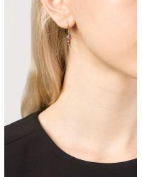 Marie-hélène De Taillac | Metallic Bluebell Earrings | Lyst