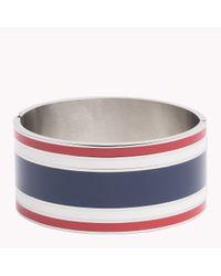 Tommy Hilfiger   Blue Signature Bracelet   Lyst