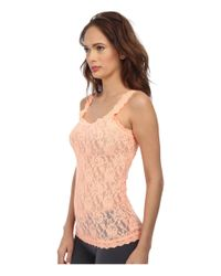 Hanky Panky - Orange Signature Lace Unlined Cami - Lyst