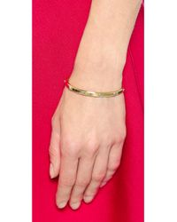 Michael Kors Metallic Astor Open Cuff Bracelet - Gold/Silver