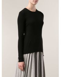 Michael Kors Black Basic Sweater