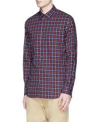 DSquared² - Multicolor Tartan Plaid Shirt for Men - Lyst