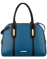 Anne Klein | Blue Medium Show Off Satchel | Lyst