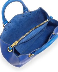 Sophie Hulme - Blue Mini Beaumont Tote Bag - Lyst