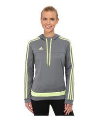 Adidas | Gray Tiro Hoodie | Lyst
