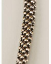 Laura B - Metallic Magno Necklace - Lyst