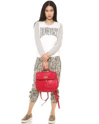 Marc By Marc Jacobs Red Marchive Backpack - Cement
