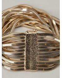 Rosantica - Metallic 'Shiava' Multi Chain Necklace - Lyst