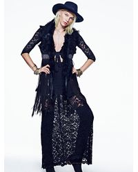 Free People Black Jen S Pirate Booty + Womens Cutout Maxi Dress