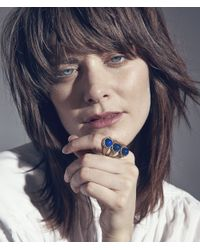 Jenny Bird - Blue Aurora Mood Ring - Size 6 - Lyst
