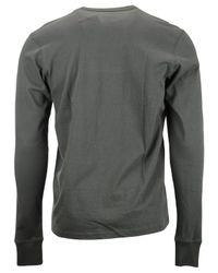 47 Brand - Gray Men's Long-sleeve Philadelphia 76ers Flanker T-shirt for Men - Lyst