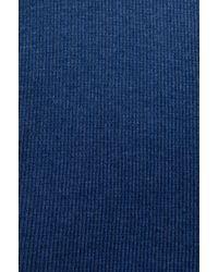 Free People - Blue Rockabilly Printed Raglan Top in Navy - Lyst