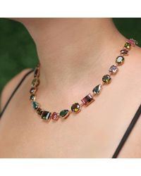 Irene Neuwirth | Multicolor Mixed Shape Tourmaline Necklace | Lyst