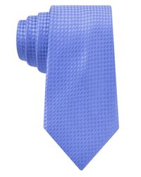 MICHAEL Michael Kors - Blue Tiled Silk Tie for Men - Lyst