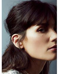Free People - Metallic Luv Aj Womens Double Barbell Ear Cuff - Lyst