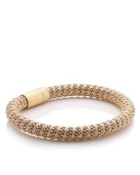 Carolina Bucci | Rose Gold/pink Twister Bracelet | Lyst