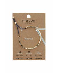 TOPSHOP - Blue Water Element Bracelet - Lyst