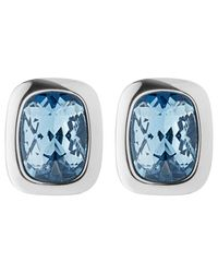 Dyrberg/Kern | Metallic Dyrberg/kern Swarovski Crystal Stud Earrings | Lyst