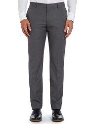 Tommy Hilfiger Gray Rebel Steel Slim Fit Textured Suit for men
