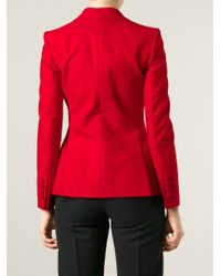 Dolce & Gabbana - Red Classic Fitted Blazer - Lyst