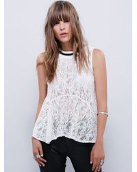 Free People | Natural Womens All Star Tank | Lyst