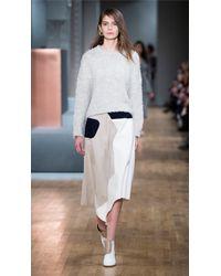 Tibi | Blue Siku Applique Draped Skirt | Lyst