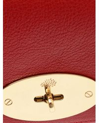 Mulberry - Red Lily Leather Shoulder Bag - Lyst