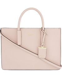 DKNY - Pink Bryant Park Saffiano Leather Tote - For Women - Lyst