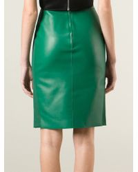 DSquared² - Green Pencil Skirt - Lyst