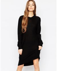 Just Female | Black Air Jumper Dress | Lyst