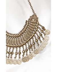 Natalie B. Jewelry | Metallic Fit For A Queen Collar | Lyst
