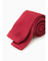 Mango | Red Knit Tie for Men | Lyst