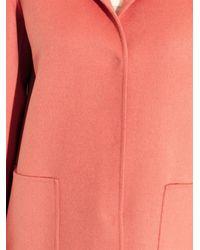 Weekend by Maxmara Pink Gloria Wool-Blend Coat