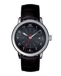 88 Rue Du Rhone | Men's Double 8 Origin Leather Watch With Black Dial for Men | Lyst