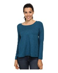 Patagonia - Blue Back Wrap Top - Lyst