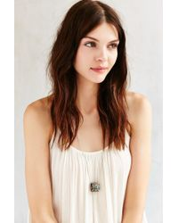 Urban Outfitters | Metallic Boxed Souvenir Pendant Necklace | Lyst