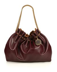 Stella McCartney | Brown Noma Faux Leather Bucket Bag | Lyst