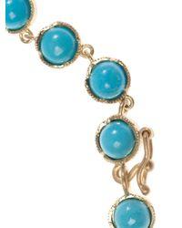 Irene Neuwirth | Blue Turquoise & Yellow-Gold Bracelet | Lyst