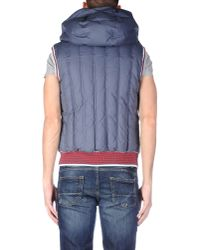 John Galliano - Gray Down Jacket for Men - Lyst