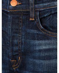 J Brand Blue Georgia Caitland Boyfriend Jeans