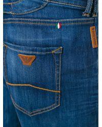 Armani Jeans Blue Classic Overalls