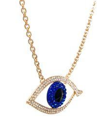 ALDO | Blue Aseacia Evil Eye Long Pendant Necklace | Lyst