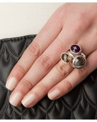 Monica Vinader - Purple Silver Amethyst Candy Ring - Lyst