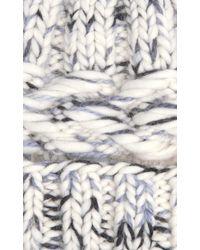 Rebecca Taylor White Eugenia Kim Marley Knit Hat
