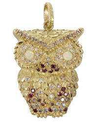 Carolina Bucci | Yellow Owl Pendant | Lyst