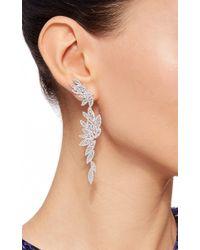 AS29 Metallic Bamboo Xl Long Earrings