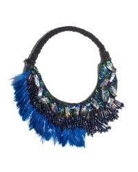 Mignonne Gavigan   Blue Najlah Collar Peacock   Lyst