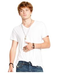 Denim & Supply Ralph Lauren | White Jersey V-neck T-shirt for Men | Lyst